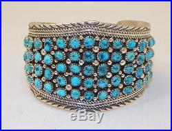 Amazingnavajomarie Yazziesterling Silversleeping Beauty Turquoisebracelet