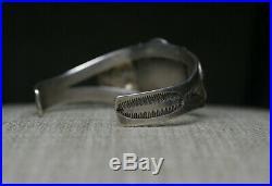 Uita 6 Native American Navajo Turquoise Sterling Silver Cuff Bracelet