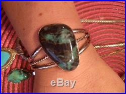 Vintage Turquoise sterling silver Carolyn Pollack Mexico stamped & signed lot